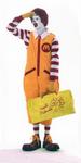 Ronald McDonald travel bag