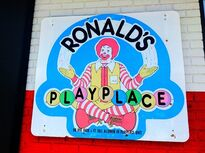 Ronald's Playplace Sign