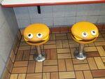 Cheeseburger seats