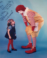 Bio-pic Squire Fridell Ronald McDonald daughter Lexy