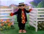 Hamburglar Black Costume