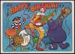 McDonaldland Birthday Card