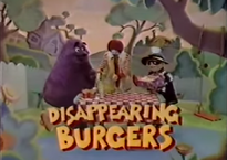 Disappearing Burgers