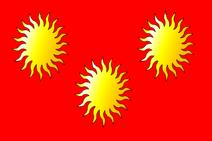 Early Frankish Empire Flag
