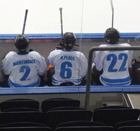 Rookies on bench