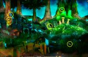 Mushroom Forest-Butterfly