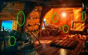 Pirate Ship Torch