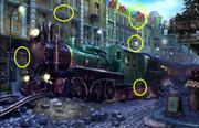 Locomotive String Ball