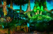 Mushroom Forest-Playing Card