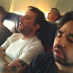 Sleeping peacefully on a flight with <a href=