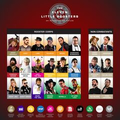 The Full <i>Eleven Little Roosters</i> Character Roster