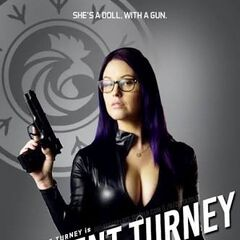 Agent Turney Post Card