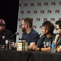 Podcast Panel at RTX 2015