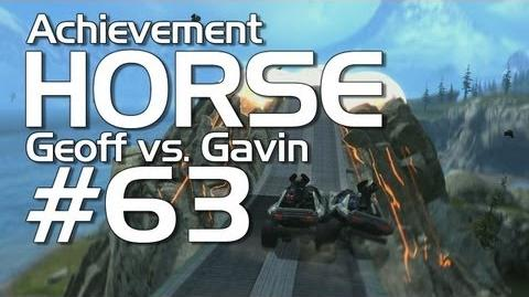 Halo Reach - Achievement HORSE 63! (Geoff vs