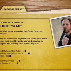 Haywood File 37 - There Ya Go