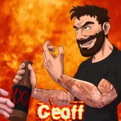 Geoff's Versus Title Card