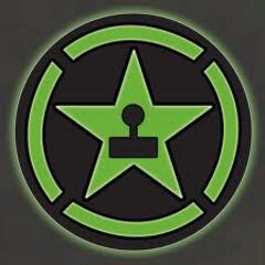 The Achievement Hunter logo