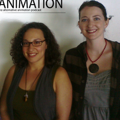 Paula and fellow animator <a href=