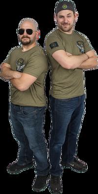 Battle Buddies shirts