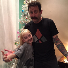 Geoff with his daughter Millie