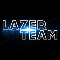 Lazer Team Logo at Announcement