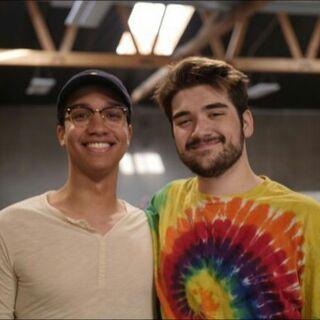 Trevor with Jakob