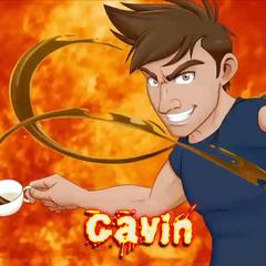 Gavin's Versus Title Card