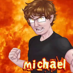 Michael's Versus Title Card