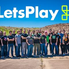 The Let's Play Family in Summer, 2016