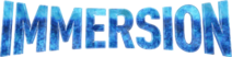 Immersion site logo