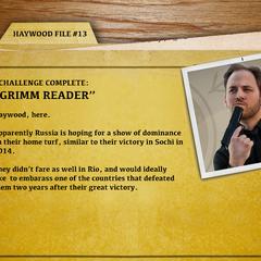 File 13 - Grimm Reader