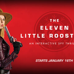 Eleven Little Roosters reveal