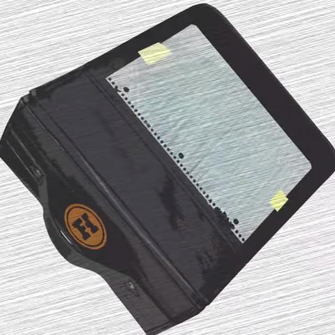 A blank Demo Disk binder