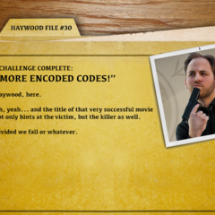 File 30 - More Encoded Codes!