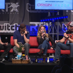 Podcast Panel at RTX AU 2016