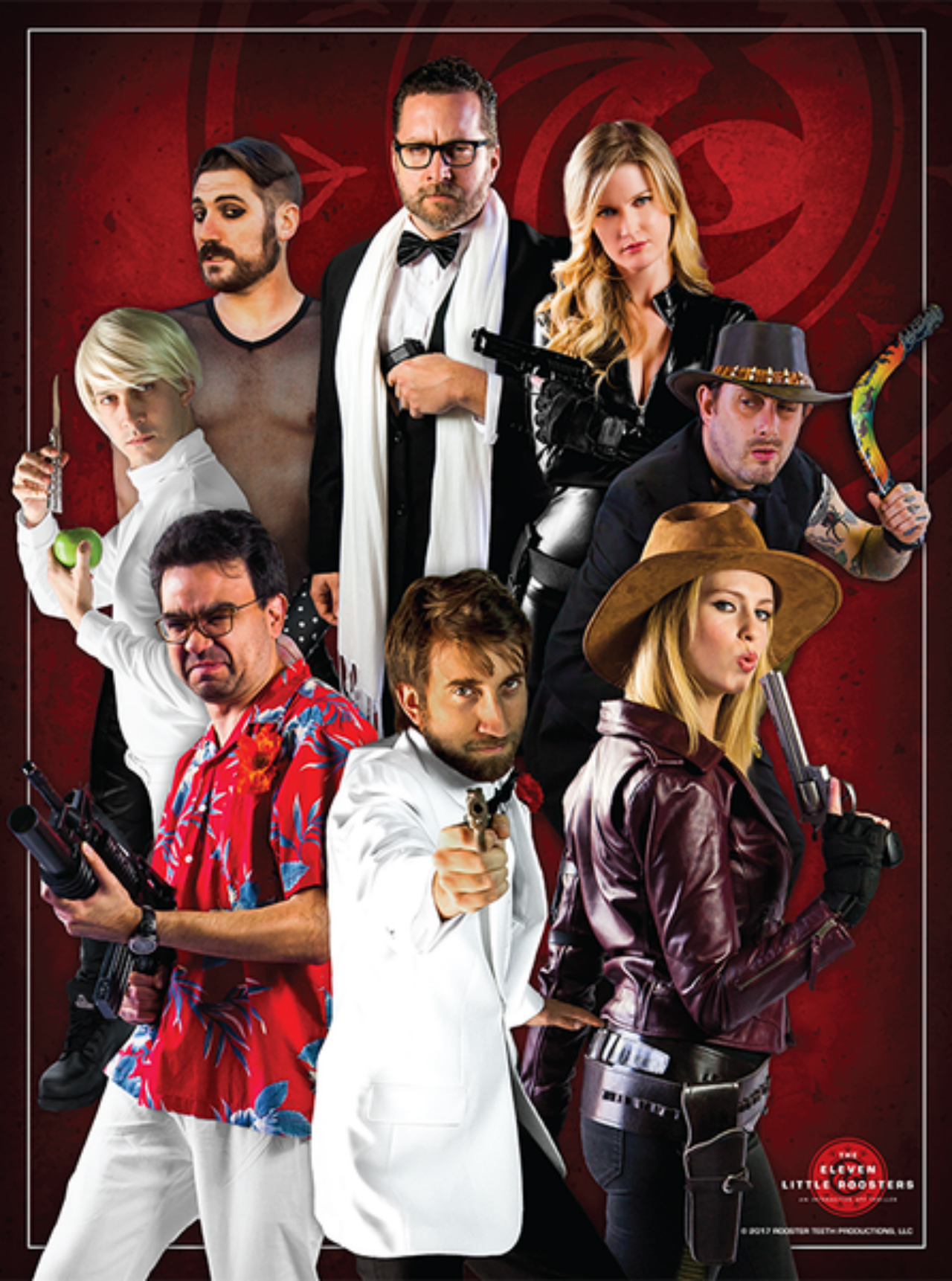 The Eleven Little Roosters | The Rooster Teeth Wiki | FANDOM powered