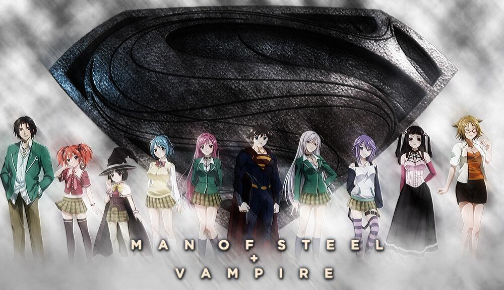 Man of Steel + Vampire poster