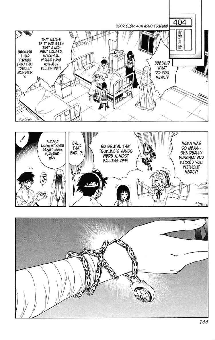 Tsukune Aono Holy Lock