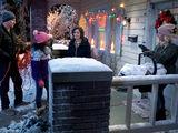 Smoking Penguins and Santa on Santa Action