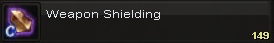Weapon shielding(1)