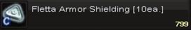 Fletta armor shield(10)