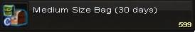 Med size bag(30days)