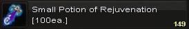 Small potion of rejuvenation(100)