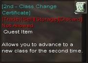 Quest reward
