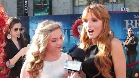 Celebs Recall Bravest Moments at the 'Brave' Premiere - Bella Thorne, Caroline Sunshine