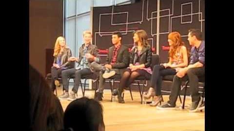 KENTON DUTY, CAROLINE SUNSHINE and the Whole SHAKE IT UP Cast Explain Gunther & Tinka!