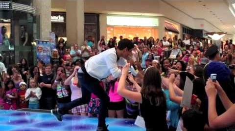 "Roshon Fegan from Shake It Up Promoting Disney's ""Make Your Mark"" in Chicago"