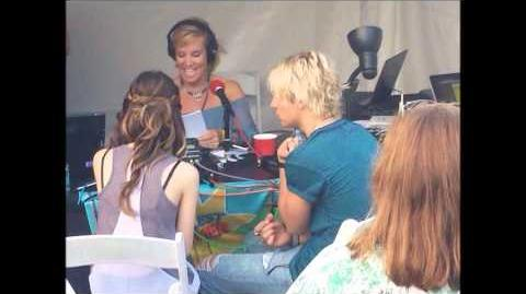 Ross and Laura radio interview in Coolest Summer Ever