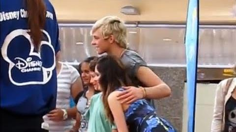 Ross Lynch and Laura Marano Meet & Greet in Sydney, Australia