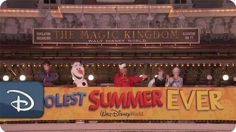 Magic Kingdom Park Kicks Off The 'Coolest Summer Ever' Disney Parks